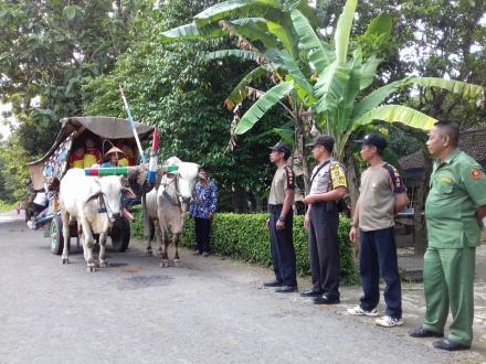 Desa Wisata Kalakijo Memandu Outbond TK ABA Bogoran