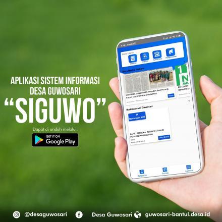 SOFT LAUNCHING APLIKASI SISTEM INFORMASI DESA GUWOSARI: SIGUWO