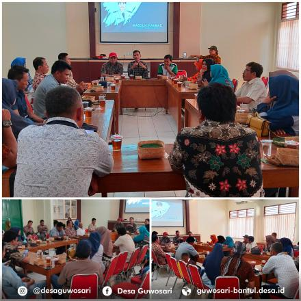 Kunjungan 4 Desa Kabupaten Bantaeng di Desa Guwosari